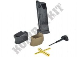 MG-BB-001C WE Airsoft Co2 Magazine Kit for M&P Little & Big Bird Gas Blowback Pistol BB Guns